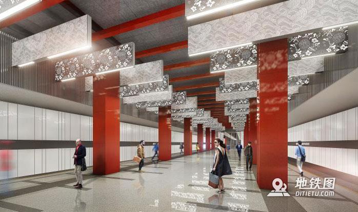 中企走出国门 助力中国元素注入莫斯科地铁 中国地铁 俄罗斯 莫斯科地铁 轨道动态  第2张