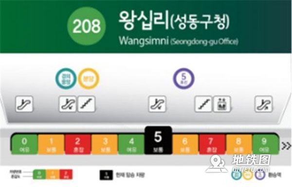 """首尔地铁新增""""拥挤指数""""装置 乘客点赞 指数 拥挤 地铁 首尔 装置 轨道动态  第2张"""