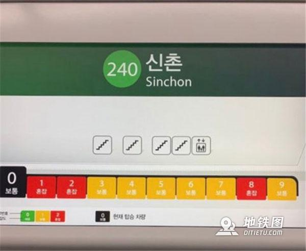 """首尔地铁新增""""拥挤指数""""装置 乘客点赞 指数 拥挤 地铁 首尔 装置 轨道动态  第3张"""