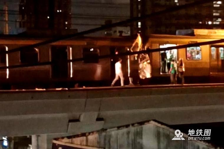 马尼拉轻轨列车相撞致29人受伤