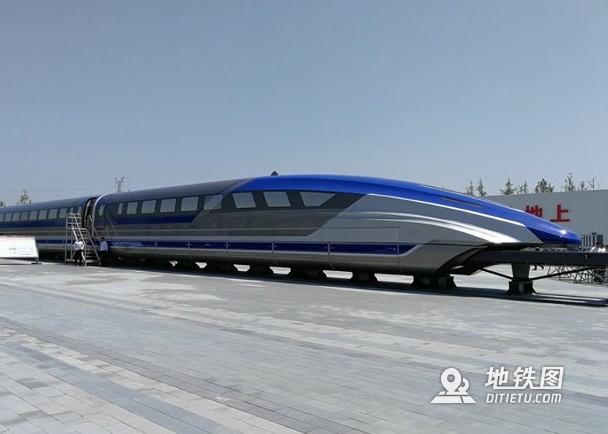 中车时速600公里磁浮样车下线 2022年将完成高速考核 高速磁浮 时速600 样车 磁悬浮 轨道动态  第2张