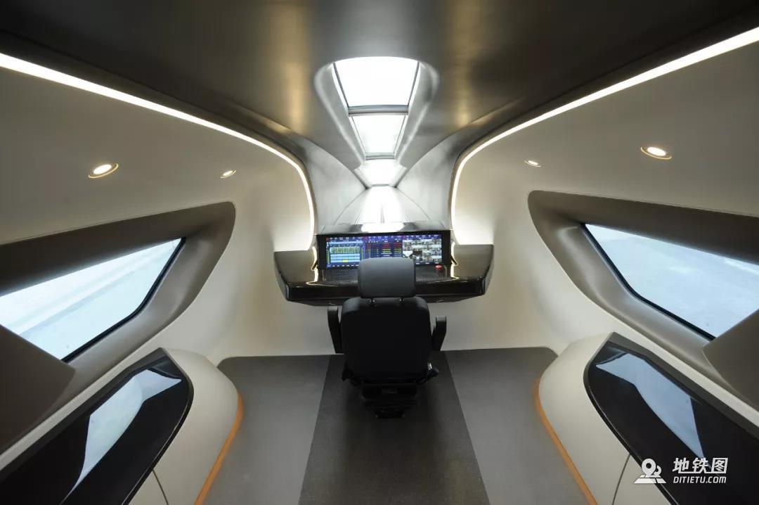 中车时速600公里磁浮样车下线 2022年将完成高速考核 高速磁浮 时速600 样车 磁悬浮 轨道动态  第3张
