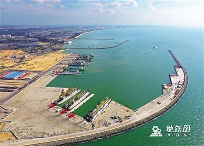 湛江至海口高铁将采用轮渡过海,时速可达350公里/小时 码头 铁路 高铁 海口 轮渡 高铁资讯  第1张