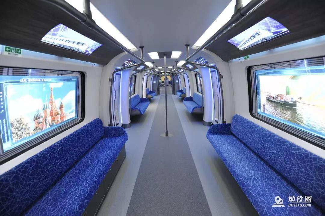 我国下一代碳纤维地铁列车成功试跑 未来地铁已来 中车 地铁 下一代 碳纤维 轨道动态  第2张