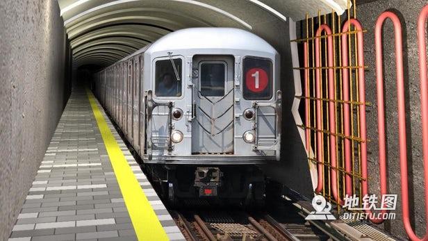 将地铁隧道变成地热回收系统可以为数千个家庭提供供暖和制冷 系统 能源 回收 地热 地铁隧道 轨道动态  第1张