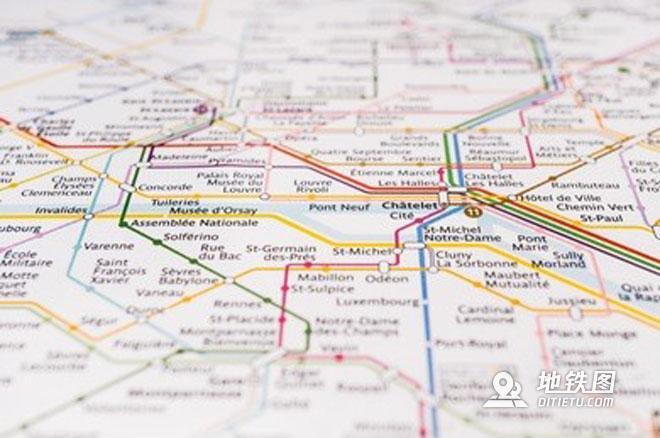 地鐵線路圖的前世今生