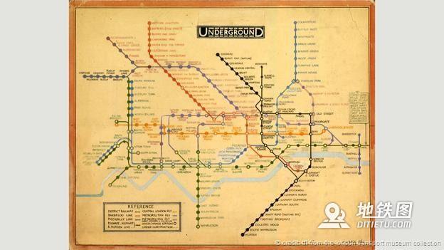 地铁图的前世今生 轨道交通 都市 城市 地铁图 轨道知识  第3张