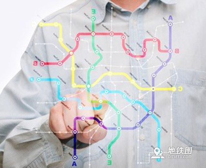 地铁图的前世今生 轨道交通 都市 城市 地铁图 轨道知识  第5张