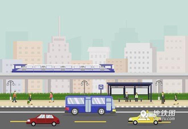 城轨地铁地面交通衔接管理工作分析 公交 轨道交通 地铁 管理 交通 轨道知识  第1张