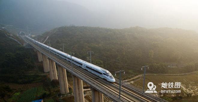 成渝中线高铁今年开工,时速将更快 成渝高铁 中铁二院 成渝中线高铁 高铁资讯  第2张