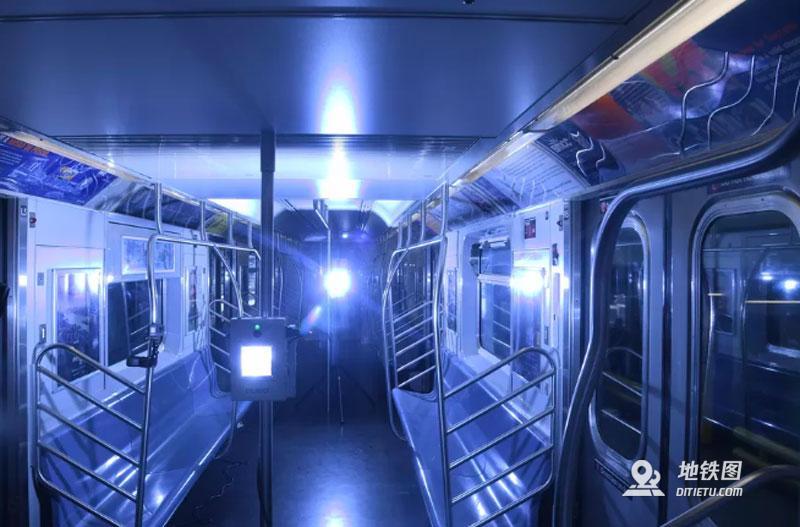 纽约市将用紫外线灯对公交地铁进行消杀