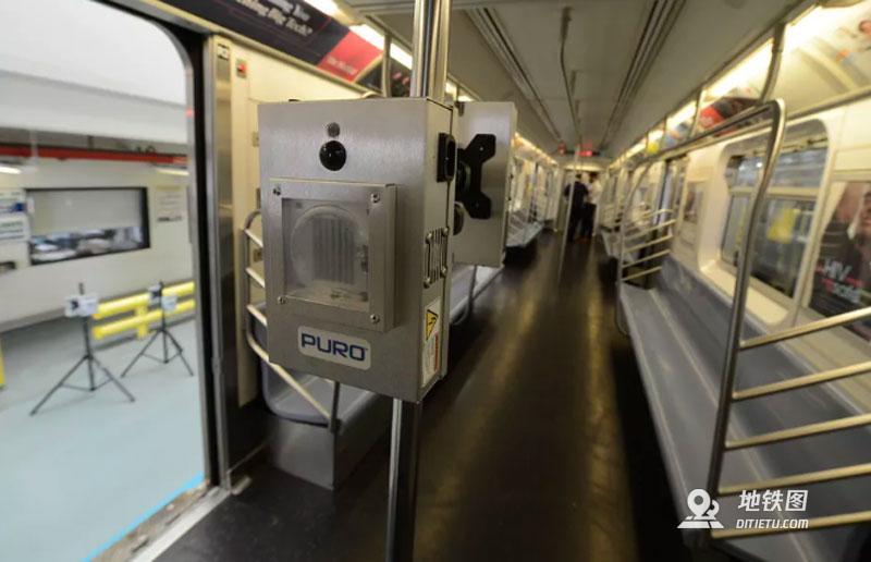纽约市将用紫外线灯对公交地铁进行消杀 Puro MTA 紫外线消毒 纽约地铁 轨道动态  第2张