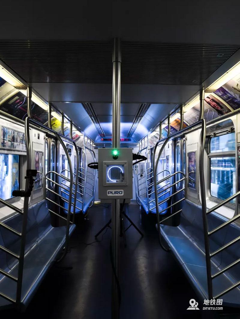 纽约市将用紫外线灯对公交地铁进行消杀 Puro MTA 紫外线消毒 纽约地铁 轨道动态  第3张