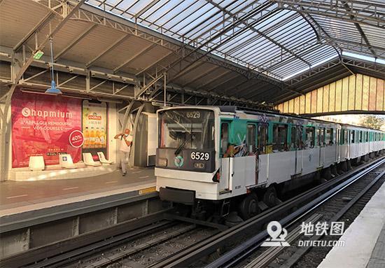 巴黎地铁在疫情中迎来运营120周年 120周年 巴黎地铁 轨道动态  第1张