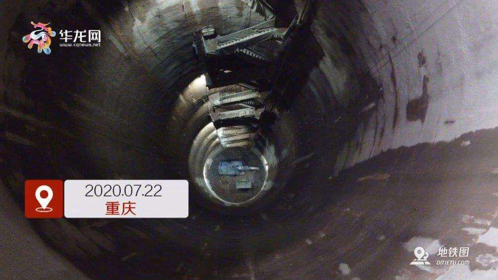 重庆将建成全国埋深最大的地铁站!
