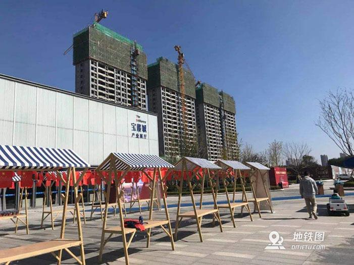 济南宝能城私设地铁站被罚49万元