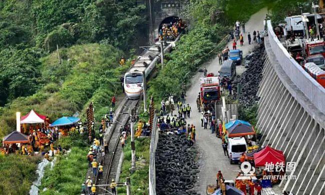 """臺鐵""""太魯閣號""""列車出軌已致50罹難162人受傷"""