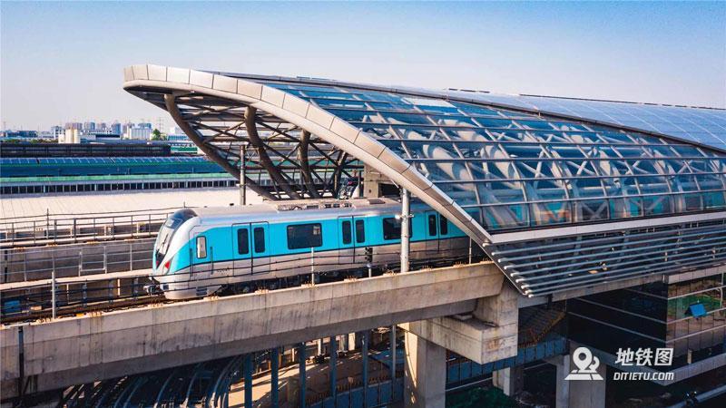 常州地鐵2號線開通 地鐵雙線換乘時代來臨