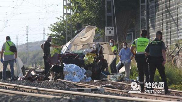西班牙Alicante火車與汽車慘烈相撞 4人喪生