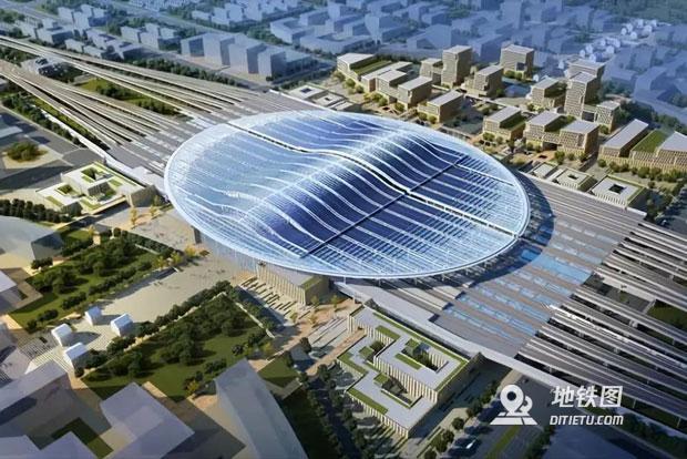 雄安高鐵站將成為全亞洲最大高鐵站