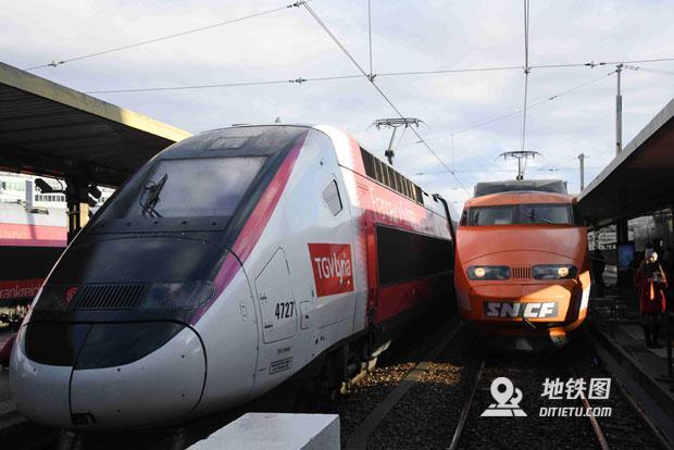 纪念庆祝:法国高速铁路开通运营40周年