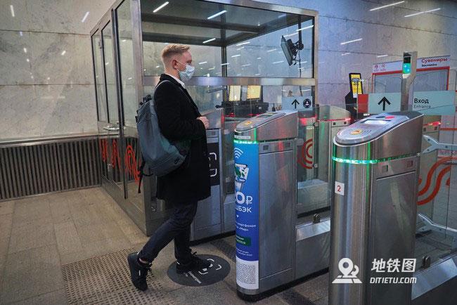 莫斯科全部地铁站启动刷脸支付服务
