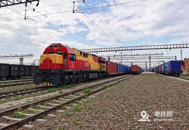 中欧经俄铁路中转运输量大增